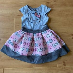 Hello Kitty Toddler Dress